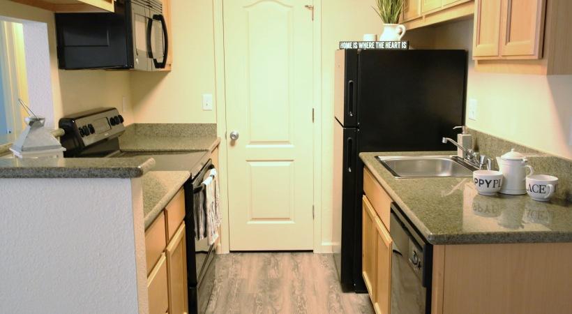 Executive One Bedroom Kitchen